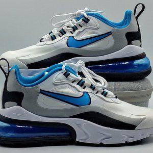 Nike Air Max 270 React Men's Size 6.5 White/Blue